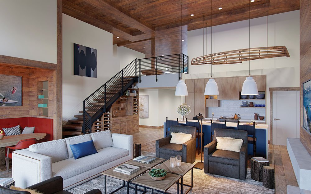 IMI Living - Tahoe Beach Club Interior
